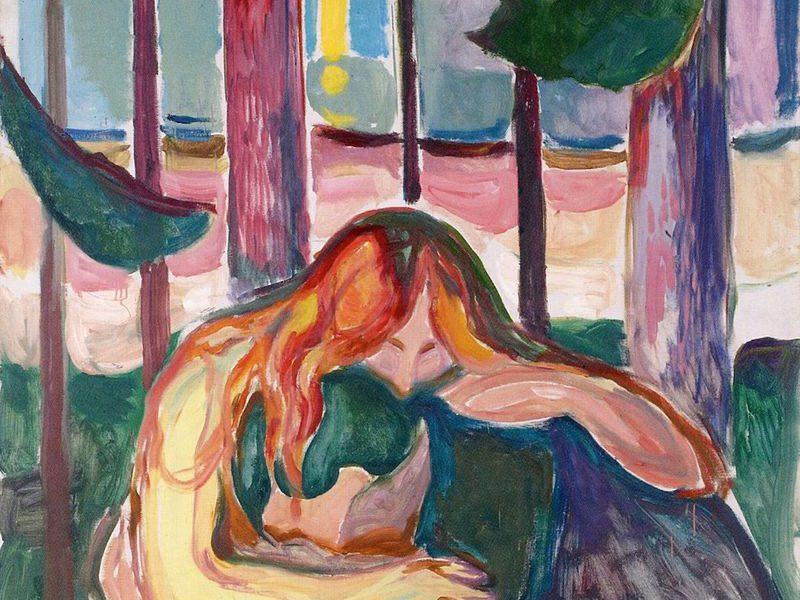 Edvard_Munch_-_Vampire_in_the_Forest_1916-18